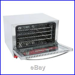 1/2 Size Commercial Restaurant Kitchen Countertop Electric Convection Oven