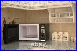 1.2 cu. Ft. 1100-Watt Countertop Microwave Oven with Grill in Stainless Steel US