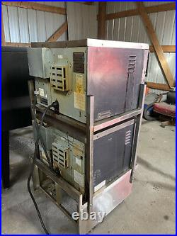 2014 & Later Set of 2 Turbochef Tornado NGC High Sp. Convection Oven With Stand