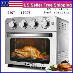 23QT Convection Air Fryer Countertop Toaster Oven Dehydrator Rotisserie Oilless