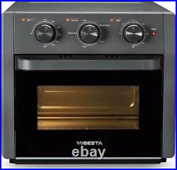 5-in-1 Air Fryer Toaster Oven, 21 Quart Countertop Convection Oven with Air Fry