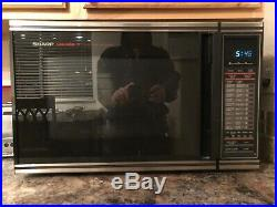 70s Vintage Sharp Carosel II Convection Microwave oven excellent condition
