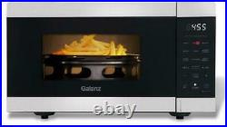 AIR FRY MICROWAVE OVEN Fryer Convection Kitchen Countertop Black Stainless Steel
