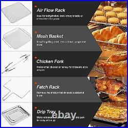 Air Fryer Oven 16 Quart 10-in-1 Countertop Convection Toaster Oven Combo 360°Hot