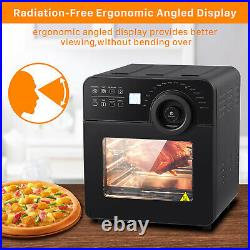 Air Fryer Toaster Oven 15QT Convection Airfryer Countertop Roast Broil Kitchen