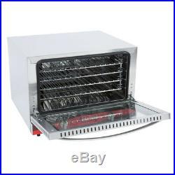 Avantco 1/2 Size Commercial Countertop Electric 1.5 Cu Ft Convection Oven Baking