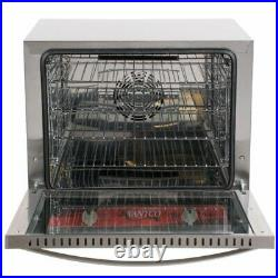 Avantco Half Size Countertop Electric Convection Oven 2.3 Cu. Ft 208/240V 2800W