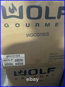 BRAND NEW WOLF GOURMET WGCO150S Countertop Convection Oven Elite Red Knob