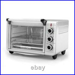 Black & Decker Crisp N Bake Countertop Convection Air Fry Toaster Oven TO3215SS