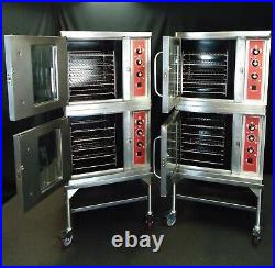 Blodgett Ctb-1 Half Size Electric Commercial Double Convection Oven 208v 1/3 Ph