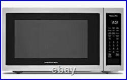 Brand New KitchenAid 1.5 Cu Ft 1400 Watt Countertop Convection Microwave Oven