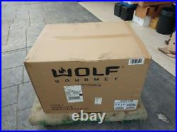 Brand New Wolf Gourmet Countertop Toaster Oven WGCO100S Red Knob