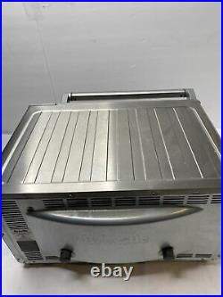 Breville Convection Smart Oven Countertop Stainless Steel BOV800XL With Extras