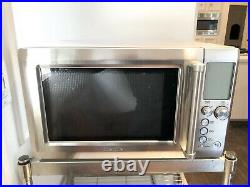 Breville Quick Touch 1.2 cu. Ft Brushed Stainless Steel Microwave Oven BMO734XL