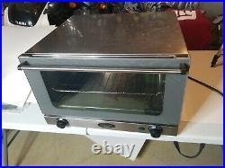 Cadco LTD. UNOX Countertop Commercial Convection Oven XA006 TYPE XA