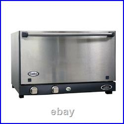 Cadco OV-013SS Stainless Steel Convection Oven 3 Half-Size Pan Capacity