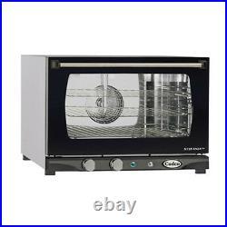 Cadco XAF-113 Countertop Electric Convection Oven 3 Half Size Pan Capacity