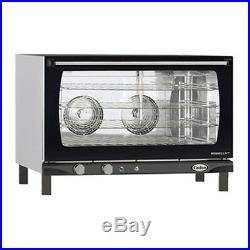 Cadco XAF-193 Countertop Electric Convection Oven 4 Full Size Pan Capacity
