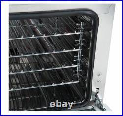 Commercial Kitchen Countertop Electric Convection 1/4 Size Oven ETL/NSF list