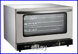Commercial Restaurant Countertop Electric Convection 1/4 Size Oven ETL/NSF list