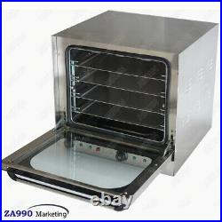Commercial Restaurant Kitchen Electric Double Fan Convection Oven With Timer
