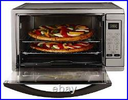 Convection Oven Cookware Toaster Digital Countertop Large Stove Pizza Cooker New