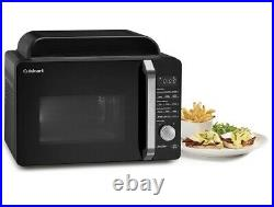 Cuisinart AMW-60 3-in-1 Oven Airfryer Microwave Black