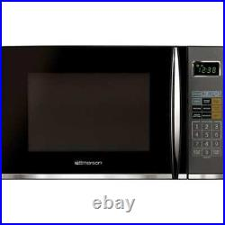 Emerson 1.2 CU FT DIGITAL MICROWAVE OVEN with Grill combo ALL COLORS 1100 WATTS