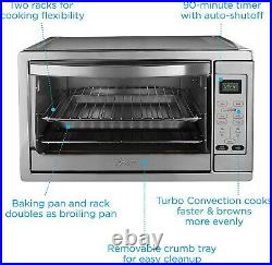 Extra Large Commercial Bake Digital Counter Top Convection Oven Stainless Steel