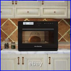 F. BLUMLEIN Steam Convection Oven Countertop Self-Cleaniing Stainless Steel 34QT