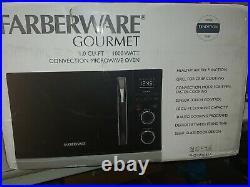 Farberware, 1500-Watt Convection+Air Fry+Microwave Oven 1.0Cu. Sensor Touch, Led