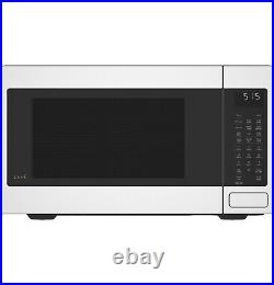 GE Café Matte White Kitchen Package with 30 Induction Double Oven Range