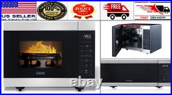 Galanz 3-in-1 Counter-top Air Fryer Convection Microwave Oven 0.9 Cu. Ft Black