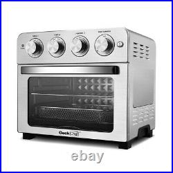 Geek Chef Air Fryer Toaster Oven 6Slice 24QT Convection Airfryer Countertop Oven