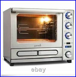 Gemelli Twin Oven Convection Oven with Built-In Pizza Drawer Brand New