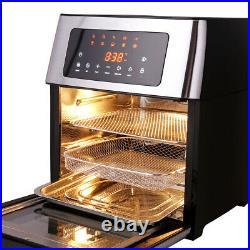HIFRRUY Air Fryer, 10-in-1 AirFryer Toaster Oven Combo, 16 Quart Countertop#Best