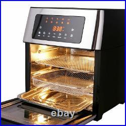 HIFRRUY Air Fryer, 10-in-1 AirFryer Toaster Oven Combo, 16 Quart Countertop Best