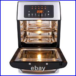 HIFRRUY+Air Fryer, 10-in-1 AirFryer Toaster Oven Combo, 16 Quart Countertop#Best