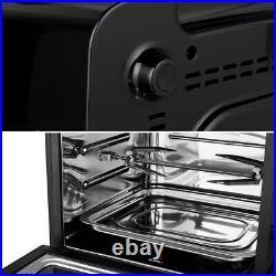 HIFRRUY+Air Fryer, 10-in-1+AirFryer Toaster Oven Combo, 16 Quart Countertop Quart