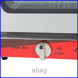 Half Size Commercial Restaurant Kitchen Countertop Electric Convection Oven