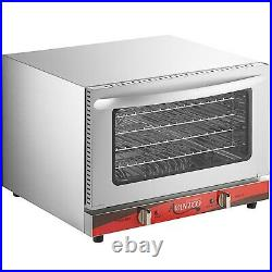 Half Size Commercial Restaurant Kitchen Countertop Electric Convection Oven 120V