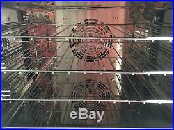 Half Size Countertop Commercial Convection Oven, 1.5 Cu. Ft. 120V 1600W ETL