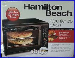 Hamilton Beach Countertop Oven with Convection & Rotisserie, 31101D FREE SHIPP