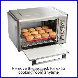 Hamilton Beach Extra Large Countertop Oven with Convection & Rotisserie 31103D
