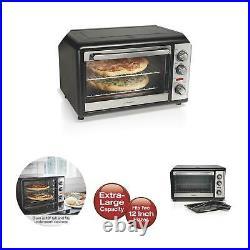 Hamilton Beach XL Convection Oven Rotisserie Kitchen Countertop Stainless Steel