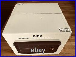 June Oven 7 in 1 Do it all Smart countertop Convection JCH02 Brand New