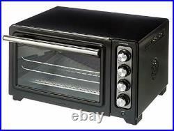 KitchenAid 12-Inch Compact Convection Countertop Oven Black Matte KCO253Q2BM