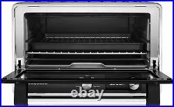 KitchenAid KCO211BM Digital Countertop Toaster Oven, Black Matte, Brand New