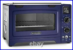 KitchenAid RKCO273BU 12 Convection Bake Digital Countertop Oven Cobalt Blue