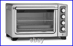 KitchenAid Steel 12 Convection Countertop Toaster Oven Bake Broil RKCO253CU
